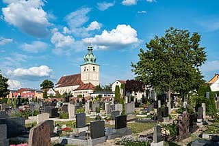 Amberg-Dreifaltigkeitsfriedhof-Grabstätten