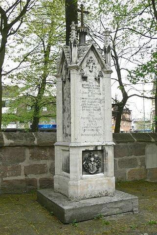 Schwabach-Alter-Friedhof-Grabstein-Beck