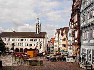Grabmal in Böblingen