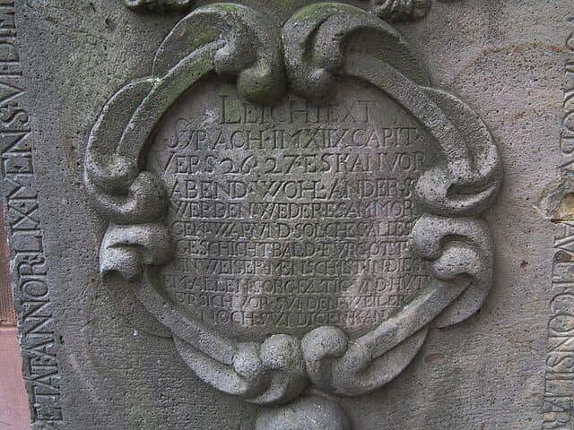 Landau-Grabplatte-Stiftskirche