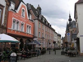 Grabstein in St. Wendel