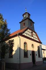 Mörfelden und Walldorf-Grabsteine-Kirchen