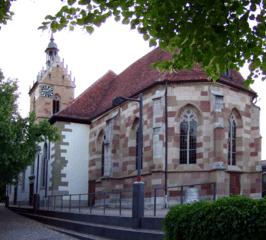 Grabstein in Fellbach