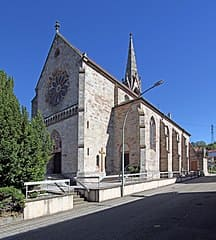 Gaggenau-Hoerden-Kirche-Grabsteine