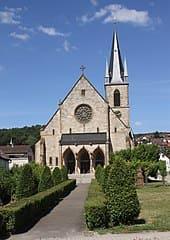 Gaggenau-Ottenau-Kirche-Grabstein
