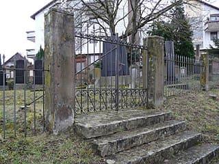 Jüdischer-Friedhof-Bretten-Grabstein
