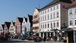 Marktplatz-Günzburg-Grabsteine