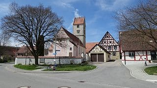 Ehingen-Donau-Kirche-Friedhof
