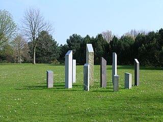 Aachen-Friedhof-Grabsteine