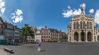 Steinmetz in Erfurt