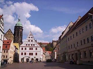 Steinmetz in Pirna