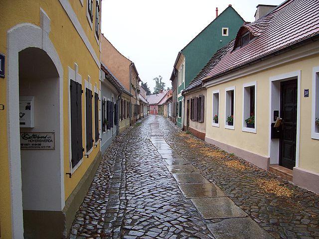 Grabsteine in Hoyerswerda