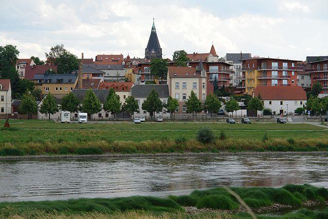 Grabsteine in Riesa