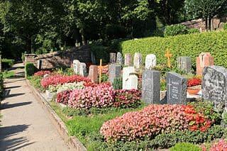 Calw-Friedhof-Gräber