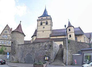 Grabmal in Sachsenheim