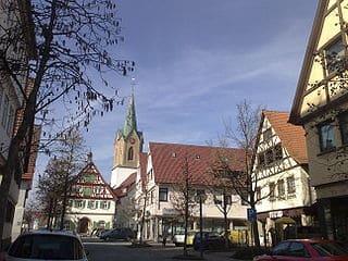 Steinmetz in Renningen