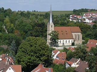 Grabmal in Marbach