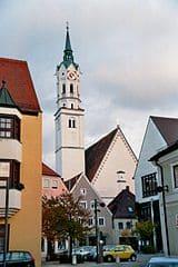 Grabmal in Schrobenhausen