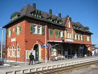 Langenau-Bahnhof