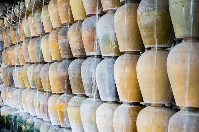 Messerschmidt schöner Urnengrabstein - Urne