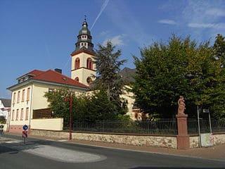 Grabmale aus Muenster (Hessen)