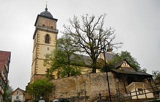 Schwieberdingen-evang. Kirche