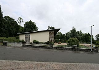 Dornburg-Friedhofshalle