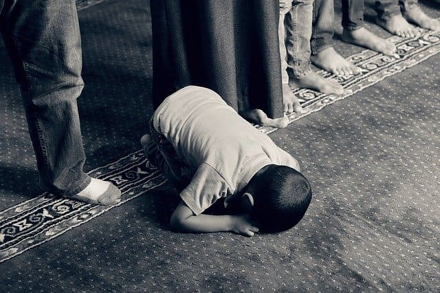 islamische Bestattungen und Rituale, Trauer Kind