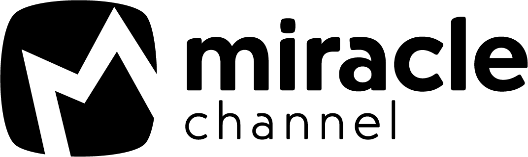 Miracle Channel Logo Black