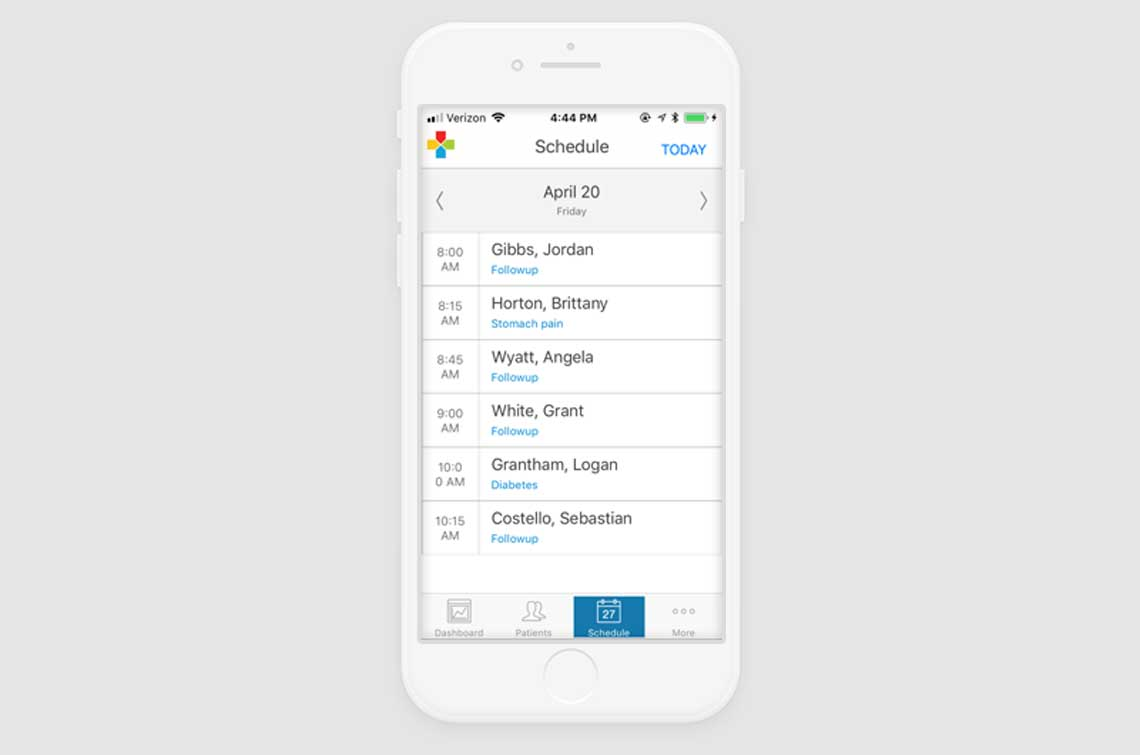 Pulse Mobile Scheduling
