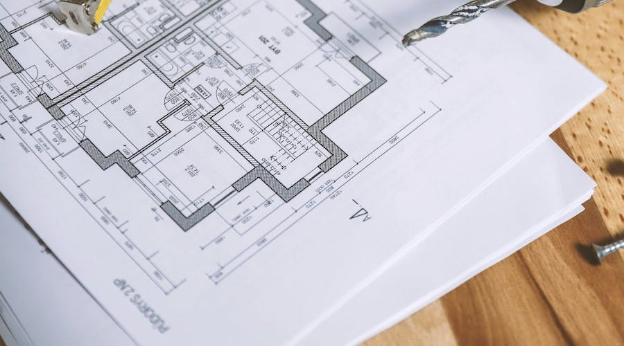 Tegne hus