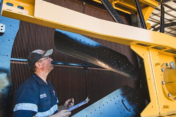 Radiator service and overhaul