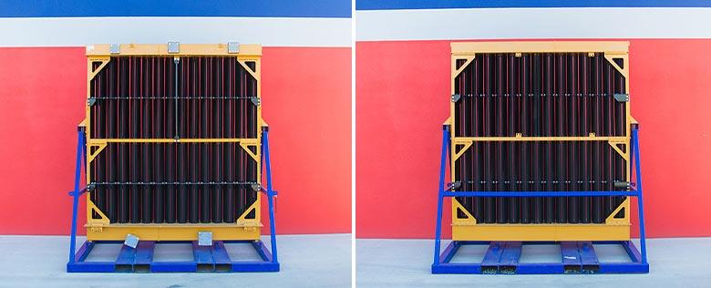 Service exchange radiators