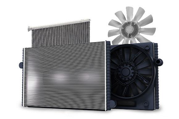 Coxons workshop for automotive cooling component repairs