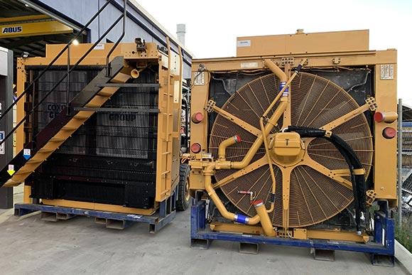 Coxons mining vehicle nosecone