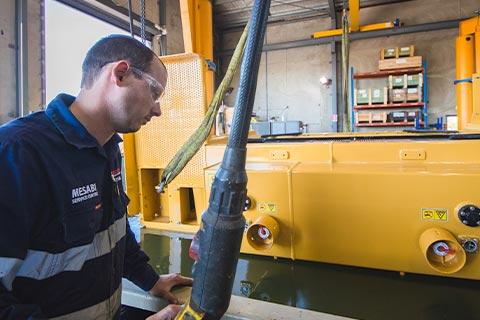 Coxons repairing equipment