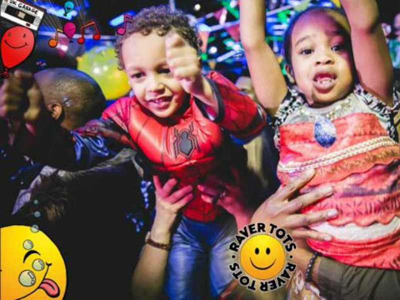 Dancing fun at Raver Tots