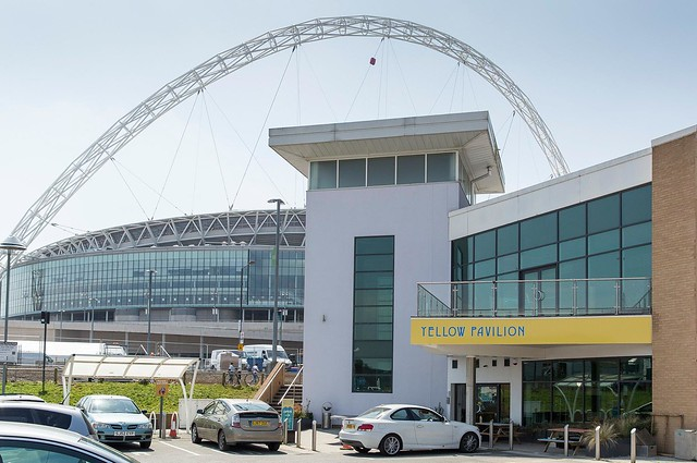 The Yellow is now a permament fixture at Wembley