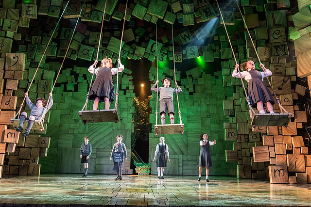 matilda the musical on stage