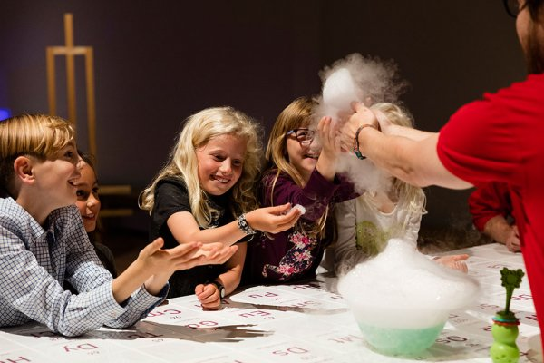 wonderlab at the science museum explosion experiment