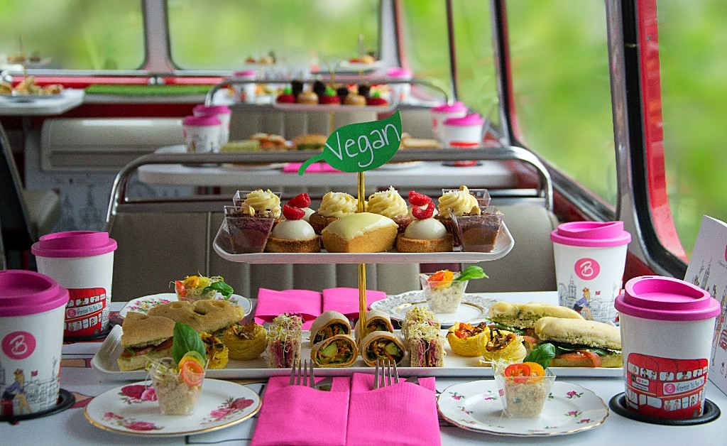 best vegan afternoon tea in london
