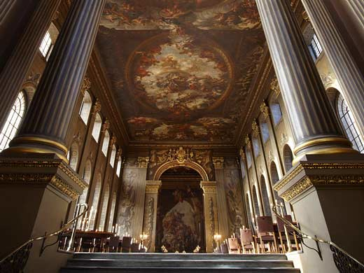 great greenwich attraction painted hall