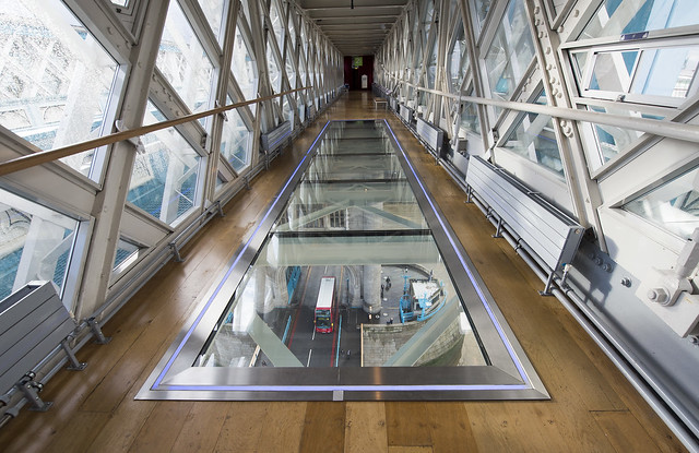 tower bridge glass walkway exhibition for kids in london