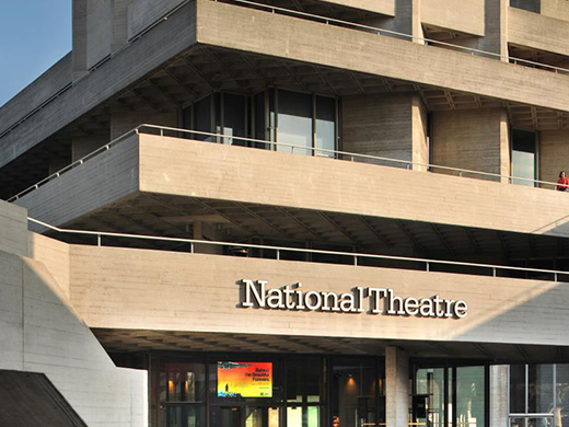free tours of the national theatre in london