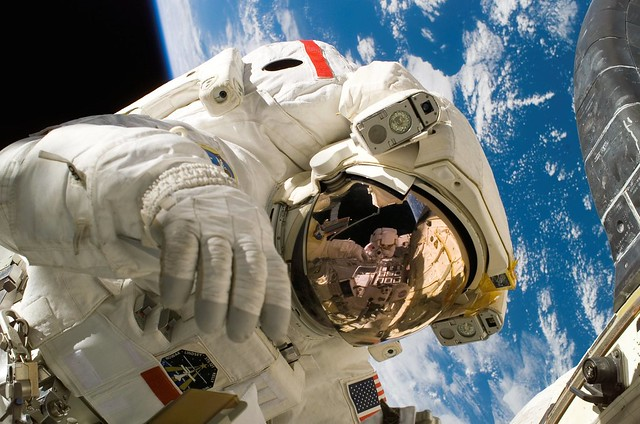 astronaut film at science museum for world space week