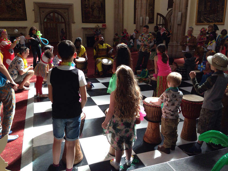 discounted tickets to african drumming workshops for families