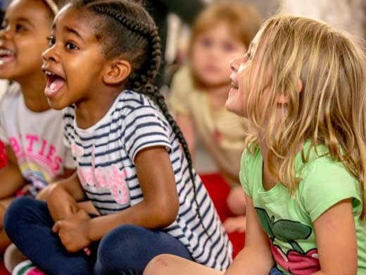 Story-time fun at The Museum of London