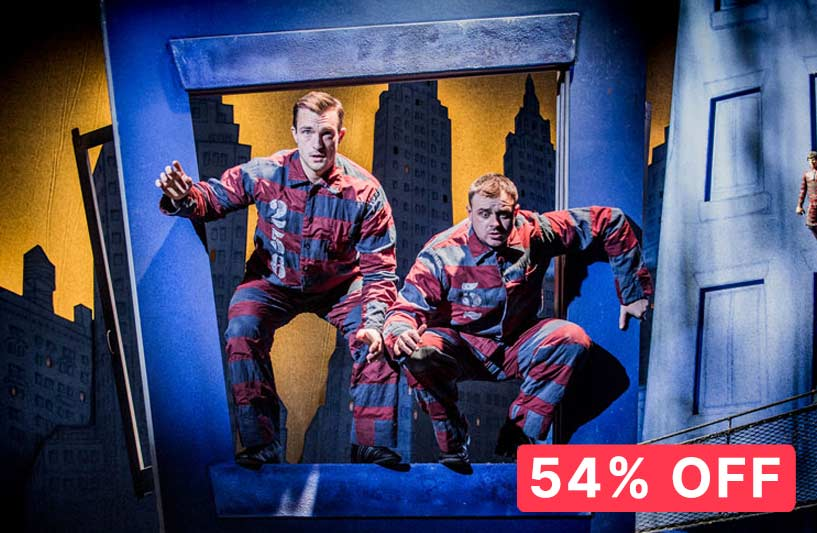 54% off The Comedy About A Bank Rbbery
