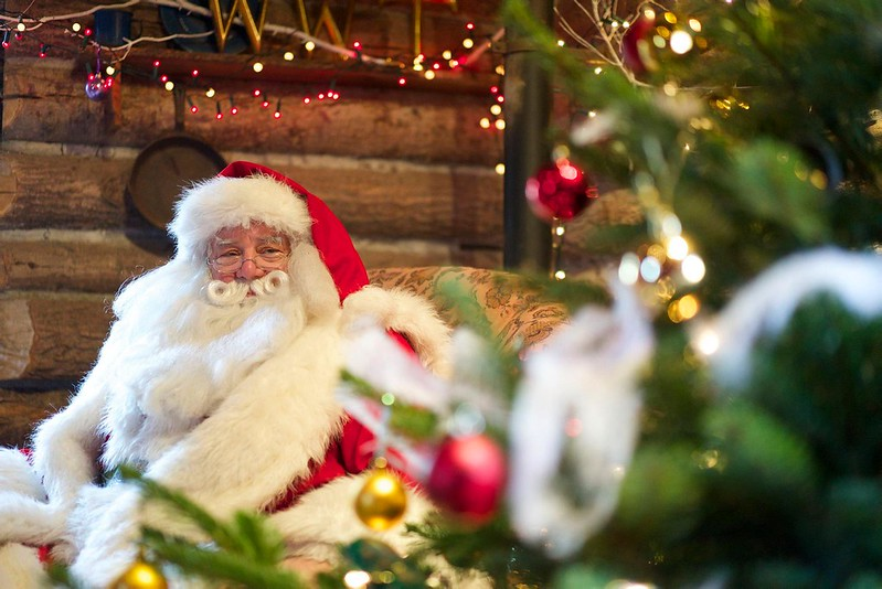 A magical chance to meet Father Christmas