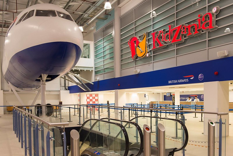kidzania captain and cabin crew role play fun